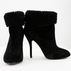 Vivienne Westwood Anglomania 10 Suede Boots Black